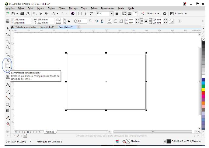 Utilizando Formas básicas Corel Draw na prática 4