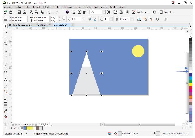 Utilizando Formas básicas Corel Draw na prática 12