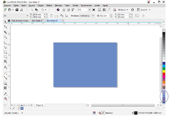 Utilizando Formas básicas Corel Draw na prática 5
