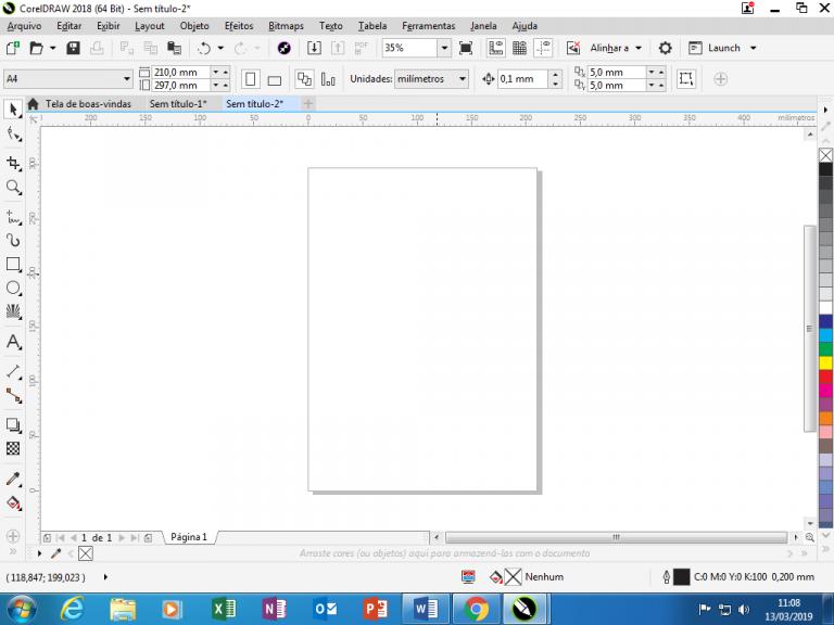 Utilizando Formas básicas Corel Draw na prática 2
