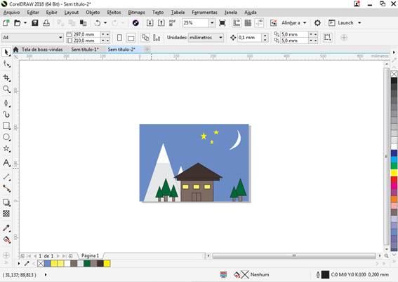 Utilizando Formas básicas Corel Draw na prática 32