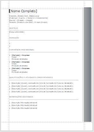 Modelos de Currículo 1