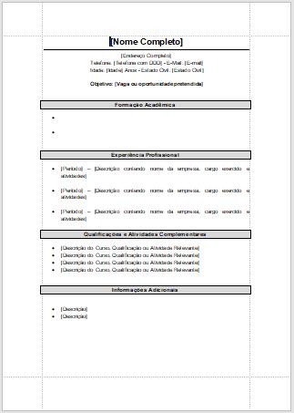 Modelos de Currículo 2